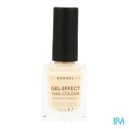 Korres Km Gel Effect Nail 04 Peony Pink 11ml