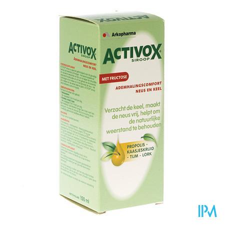 Activox Kruidensiroop 150 ml