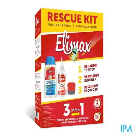 Elimax 3in1 Behandelingskit Sh 100ml + 200ml