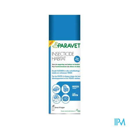Paravet Insecticide Habitat  Spray 200 ml