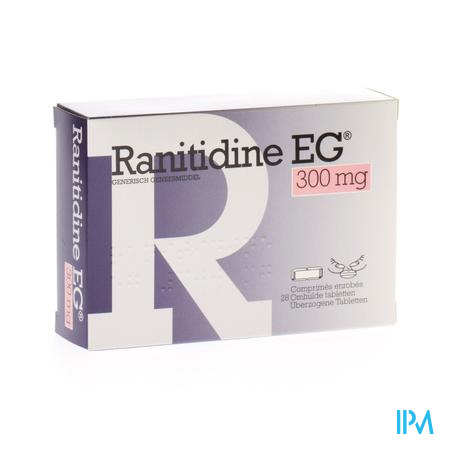 Ranitidine Eg Comp 28x300mg