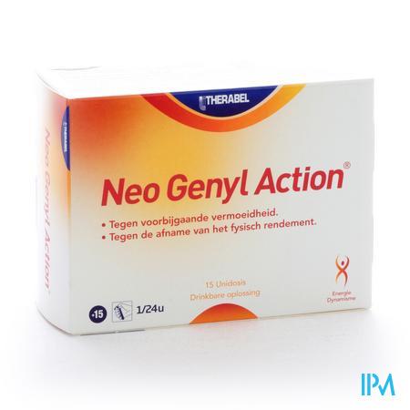 Afbeelding Neogenyl Action tegen Fysieke en Intellectuele Vermoeidheid 15 Flacons.