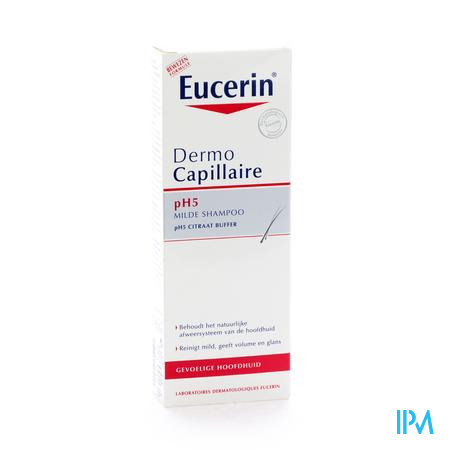 Afbeelding Eucerin Dermocapillair Milde Shampoo Ph5  250ml.