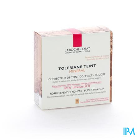 La Roche Posay Toleriane Teint Mineral Beige Cl 11 9 g