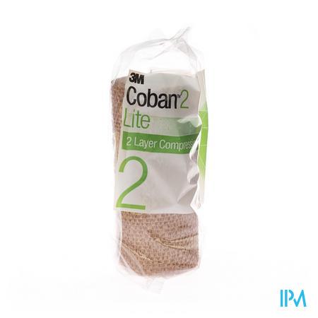 3M Coban 2 Lite Compressie 15Cm x 3.5M 1 stuk
