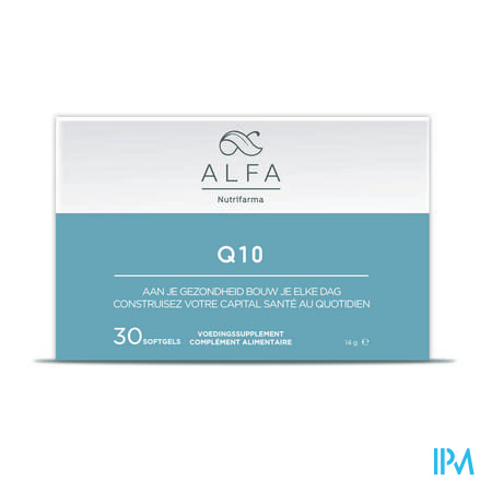 Alfa Q10 100mg Softgels 30