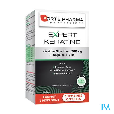 Forté Pharma Expert Keratine 25% Gratuit 120 capsules