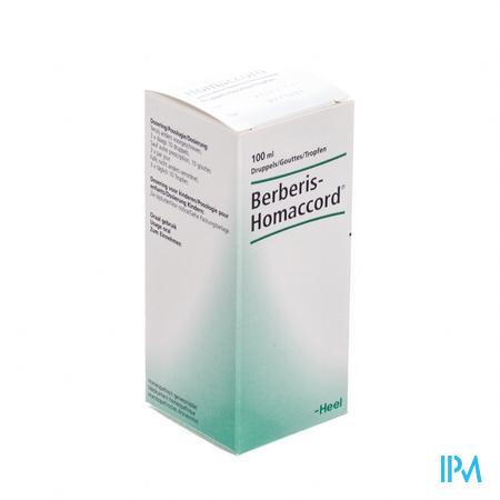 Berberis-homaccord Gouttes 100 ml Heel