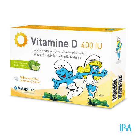 Vitamine D 400iu Smurfen Comp 84 Metagenics