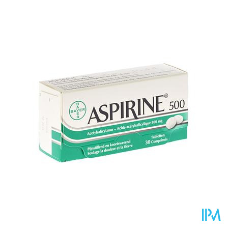 Aspirine 500mg Comp 30