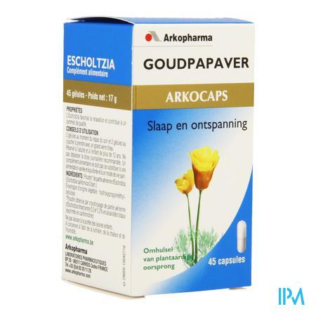 ArkoCapsule Goudpapaver Plantaardig 45