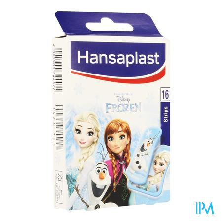 Afbeelding Hansaplast Pleister Junior Frozen 16 Strips.