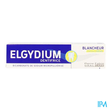Elgydium Tandpasta Witte Tanden Citroen 75ml
