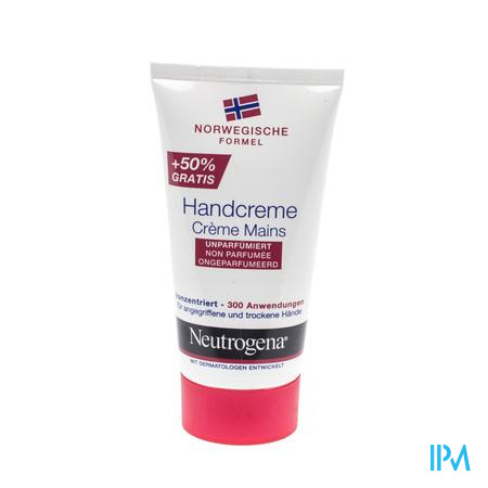 Farmawebshop - NEUTROGENA HANDCREME N.FORM. N/PARF TUBE 75ML