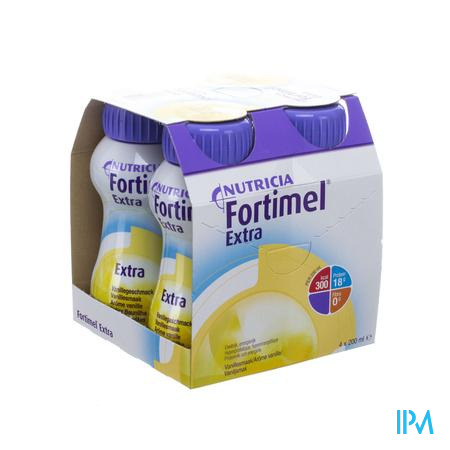 Fortimel Extra Vanille Nf 4x200ml Verv.2401511