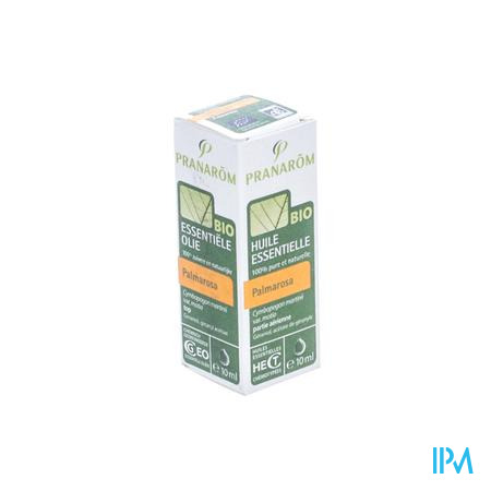 Pranarom Palmarosa Bio Huile Essentiel 10 ml