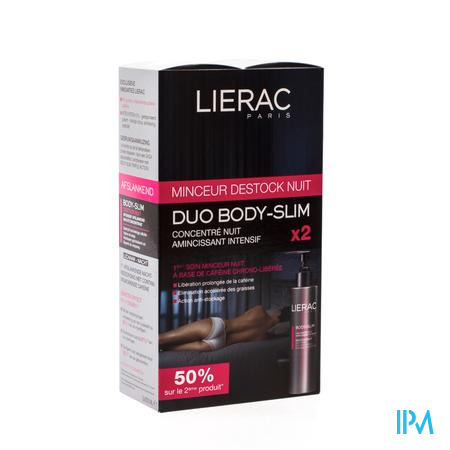 Lierac Body Slim Déstock Nuit DUO Promo 2 x 200ml 2 x 200 ml