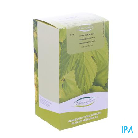 Framboos Blad Doos 100g Pharmafl