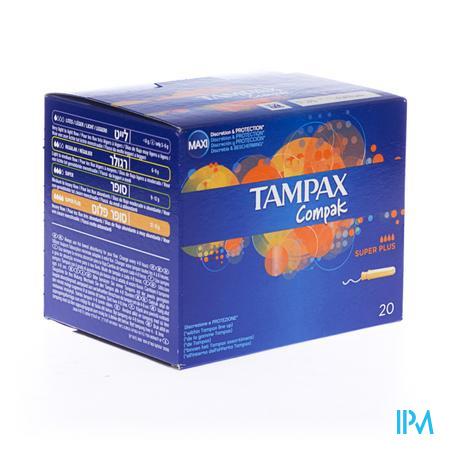 Tampax Compak Super Plus 20 stuks