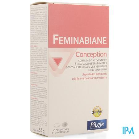 Feminabiane Conception Comp 30 + Caps 30