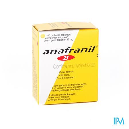Anafranil Drag 150 X 25mg