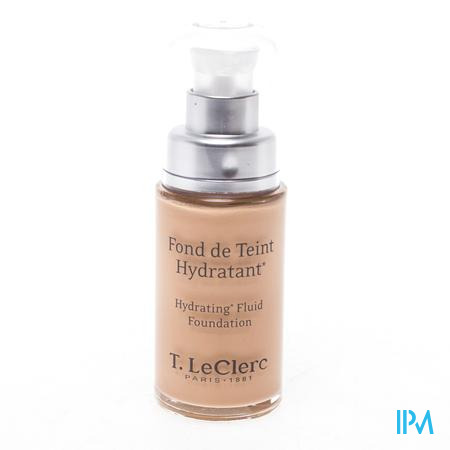 Afbeelding T. LeClerc Fond de Teint Hydratant SPF 20 Fluide 02 Claire Rosé 30 ml.