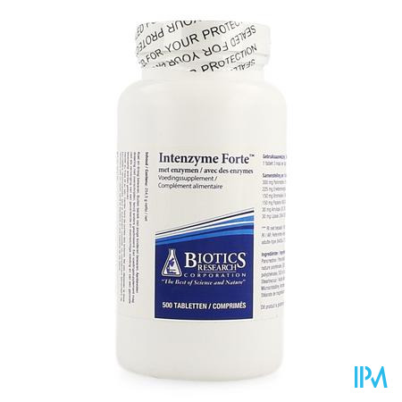 Intenzyme Forte Biotics Comp 500