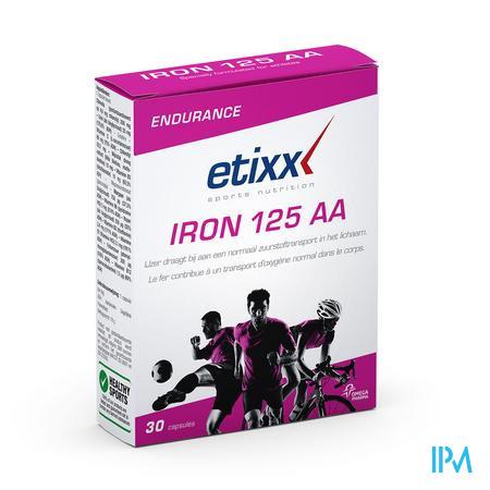Afbeelding Etixx Iron 125 AA 30 Capsules.