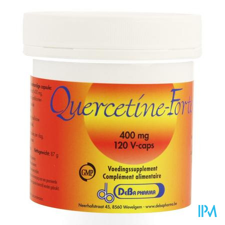 Quercetine Forte Capsule 120x400 mg Deba