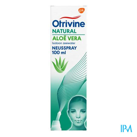 Otrivine Natural Aloe Vera Spray 100 ml