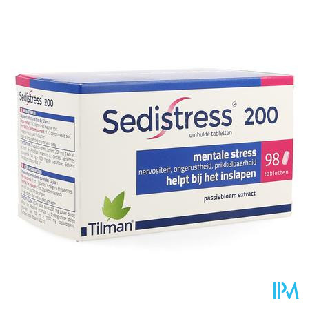 Sedistress 200 Omhulde Tabletten 98