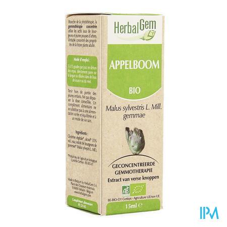 Herbalgem Appelboom Maceraat 15ml