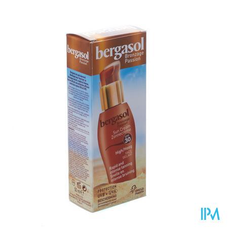 Bergasol Crème F30 Gelaat 50 ml