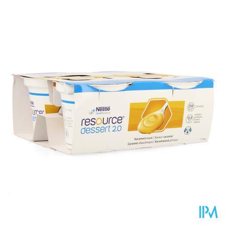Resource Dessert 2.0 Caramel 4x125g