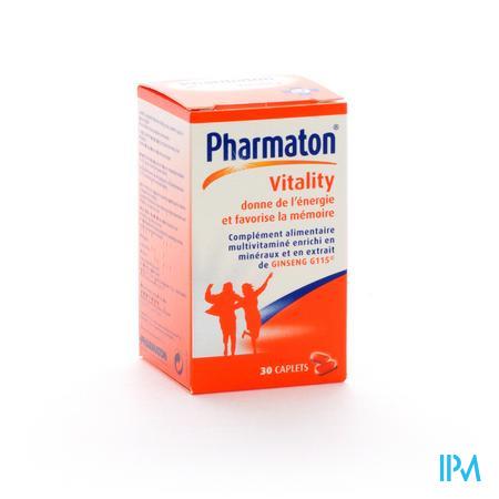 Pharmaton Vitallity 30 comprimés
