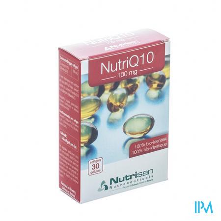 Nutrisan Nutri Q10 100mg 30 capsules