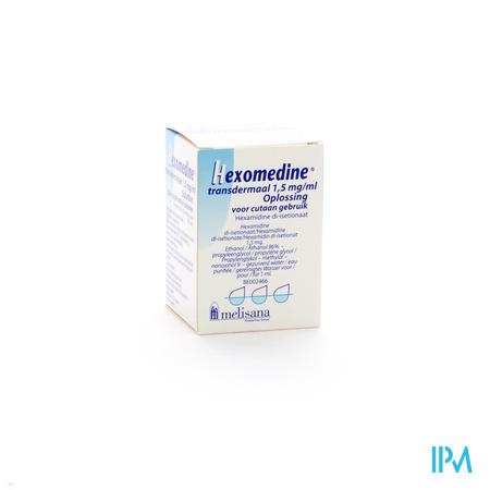 Hexomedine Oplossing 45 ml Transcut  -  Melisana