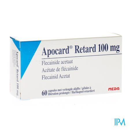 Apocard Retard Caps 60 X 100mg