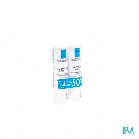 La Roche Posay Nutritic Lippenstick 2 stuks  PROMO  2e aan -50%