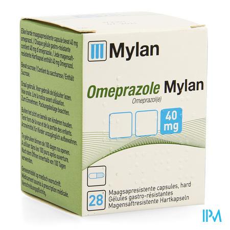 Omeprazole Mylan Caps 28 X 40mg