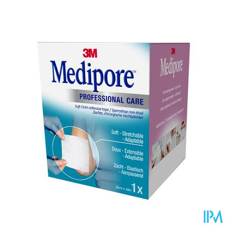 3M Medipore Pansement 10Cm x 10M 1 pièce