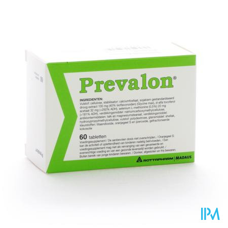 Farmawebshop - PREVALON NF COMP 60