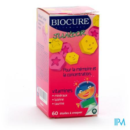 Biocure Junior Etoiles a Croquer 60 pièces