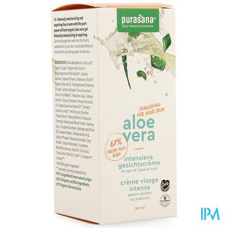 Aloe Vera Intensieve Gezichtscreme 50ml