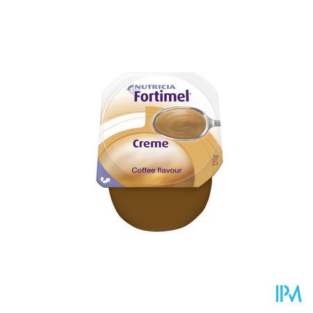 Fortimel Creme Mokka 4x125 gr  -  Nutricia