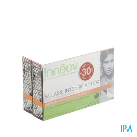 Inneov Solaire Intensif Antiox Duo 2e à - 30% 2 x 30 capsules