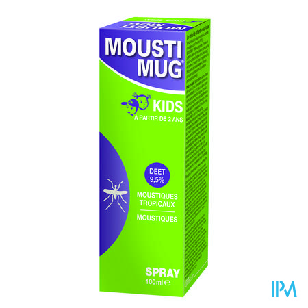 Moustimug 9,5% Deet Spray 100 ml