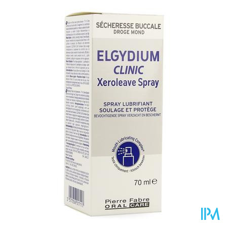 Elgydium Clinic Xeroleave Droge Mond Spray 70ml
