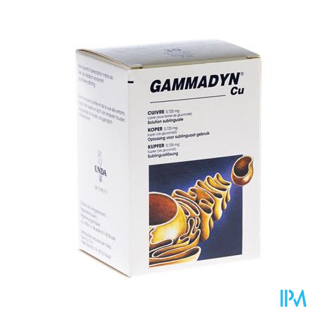 Gammadyn Ampullen 30 X 2 ml Cu  -  Unda - Boiron