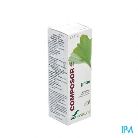 Farmawebshop - SORIA COMPOSOR N41 GINCOX/MEMOSOR 50ML